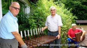 Seniorenwerkstatt bringt Sitzbänke auf Vordermann - Gießener Allgemeine