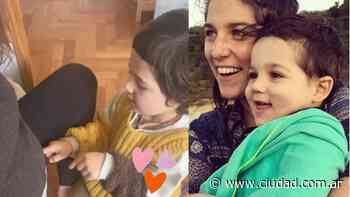 Juana Repetto compartió el video más tierno de Toro hablándole a su hermanito en la panza:... - Ciudad Magazine