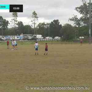 REPLAY: Qld AFL Secondary Schools Gala - St Teresa's College vs Caloundra SHS (Juniors) - Sunshine Coast Daily
