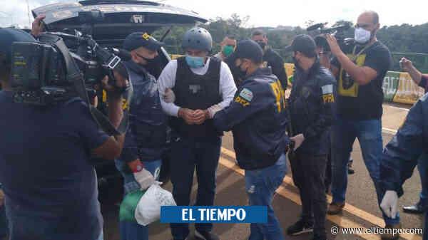 El 'Pato' Cabrera llegó a Argentina, extraditado desde Brasil - El Tiempo