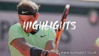 French Open tennis - Highlights: Rafael Nadal cruises past Jannik Sinner to reach quarter-finals yet again - Eurosport UK