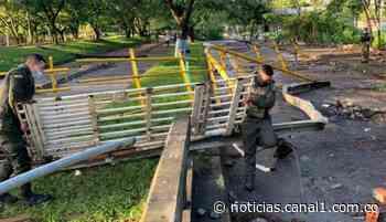 Fuerza pública evita nuevos bloqueos en la vía Buenaventura – Cali - Canal 1