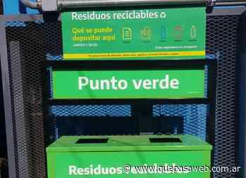 Trenes Argentinos colocó cestos para residuos reciclables en las estaciones Morón, Castelar y Haedo de la línea Sarmiento - Que Pasa Web