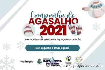 Itapecerica da Serra inicia Campanha do Agasalho 2021; colabore! - Jornal SP Repórter News