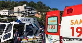 Acidente deixa motociclista ferido na BR 262, em Ibatiba - A Gazeta ES