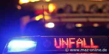 Zeuthen: Straße wegen Unfall gesperrt - Märkische Allgemeine Zeitung