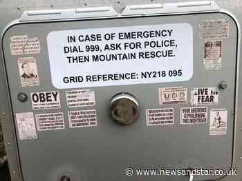 Keswick Mountain Rescue Team targeted by anti-vax vandalism   News and Star - News & Star