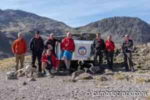 Anti-vax stickers plastered on Keswick Mountain Rescue Team's stretcher box - cumbriacrack.com - Cumbria Crack