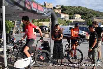 Bikingman 2021 : les premiers concurrents sont arrivés à Porto-Vecchio - Corse Net Infos