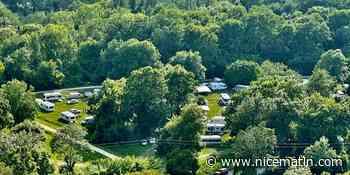 Des gens du voyage s'installent à Cagnes-sur-Mer, 70 caravanes sur les Rives du Loup - Nice-Matin