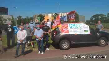 Le personnel technique de l'hôpital de Seclin en grève pour les salaires - La Voix du Nord