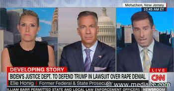 CNN Legal Analyst Slams Biden DOJ for Defending Trump in Case Over Rape Denial: Merrick Garland 'Failing to Rise to the Challenge' - Mediaite
