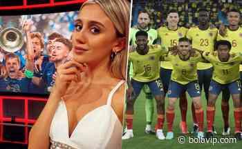 """Morena Beltrán se rindió ante un jugador de Colombia: """"Qué bueno es"""" - Bolavip"""