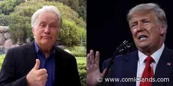Martin Sheen Went Full 'West Wing' On 'Hustler' Trump And We Want President Bartlet Back - Comic Sands