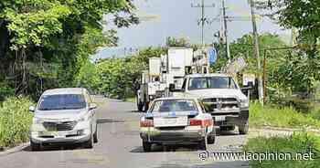 Accidente deja sin luz a varias comunidades de Coatzintla - La Opinión