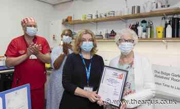 Royal Sussex Hospital's Bidge Garton retires after 38 years