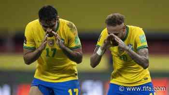 Home teams stumble, Brazil streak away