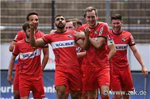 Regionalliga-Saisonfinale vor 100 Zusehenden: TSG Balingen erwartet FC Astoria Walldorf - Zollern-Alb-Kurier