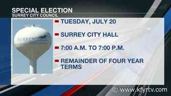 Special election planned to replace Surrey City Council members - KFYR-TV