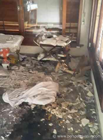 Incendio parcial en una vivienda de Quilmes Oeste - Perspectiva Sur