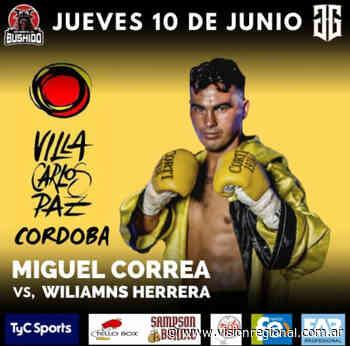 """Miguel """"Chuki"""" Correa combate en Villa Carlos Paz por TyC Sports   Visión Regional - Vision Regional"""