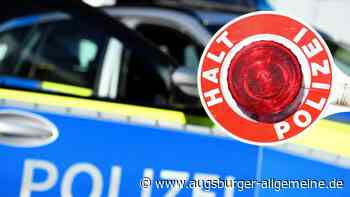 Jugendlicher flüchtet vor Polizeikontrolle - Augsburger Allgemeine