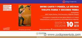 Invitan a apreciar obras de Violeta Parra y Socorro Perea en ciclo Fonoteca Nacional desde Casa - Código San Luis