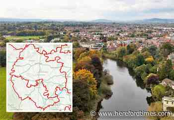 How shake-up of electoral boundaries could affect Herefordshire