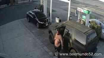 Presentan cargos contra el hombre que ataco a mujer en Gardena - Telemundo 52