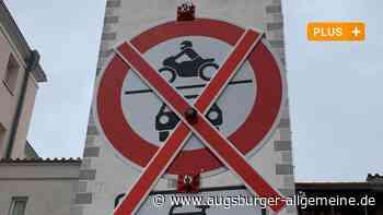 Verkehrsversuch in der Mindelheimer Innenstadt wird fortgesetzt - Augsburger Allgemeine