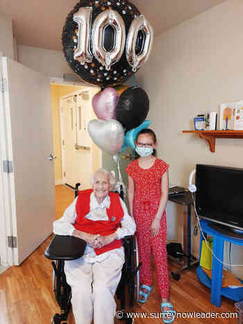 Long-time Cloverdale resident celebrates 100th birthday – Surrey Now-Leader - Surrey Now Leader