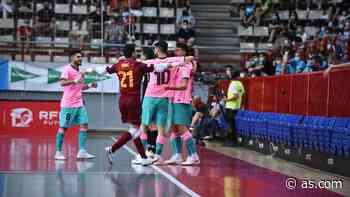 El Barça se impone con agonía al Movistar y el Palau decidirá - AS
