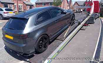 Officers track down Audi S3 stolen on a test drive