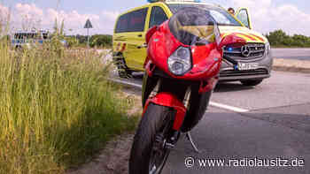 Motorradfahrer bei Kamenz verletzt - Radio Lausitz