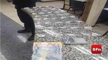 Mulher é presa com mais de 40 embalagens com cocaína em Cantagalo - SF Notícias