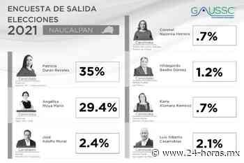 Perfilan encuestas de salida victoria de Paty Durán en Naucalpan - 24 HORAS