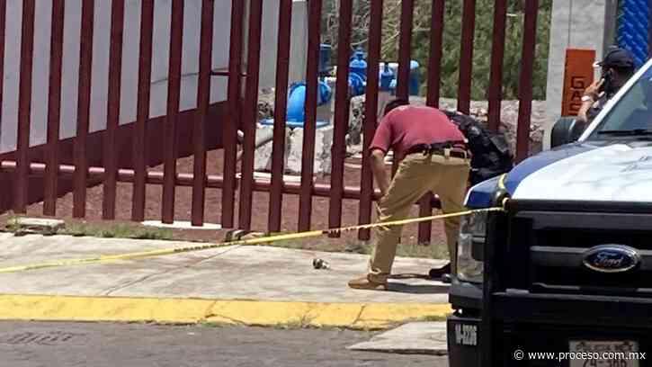 Lanzan granada en casilla de Naucalpan - Proceso