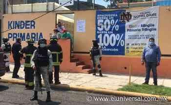 Reportan agresiones con bombas de humo en tres casillas de Naucalpan   El Universal - El Universal