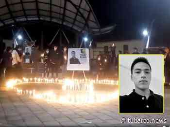 El adiós desde Puerres a Jaime, el municipio de relativa calma sacudido por el homicidio del estudiante en Cali - TuBarco
