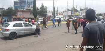 Conflicto de ambulantes desata caos en Tizayuca - Criterio Hidalgo