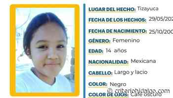 LOCALIZADA Se busca a Z. A. R. A., se extravió en Tizayuca - Criterio Hidalgo