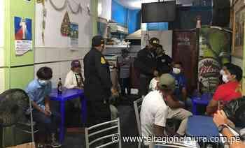 Sullana: intervienen locales por incumplir normas sanitarias - El Regional