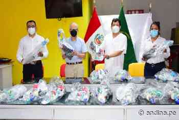 """Covid-19: entregan máscaras """"snorkel"""" para pacientes covid-19 de Sullana - Agencia Andina"""