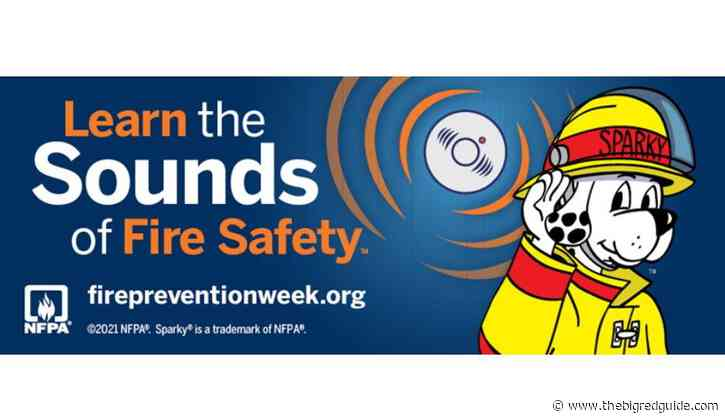 """NFPA Announces """"Learn The Sounds Of Fire Safety"""" As Theme For Fire Prevention Week 2021"""