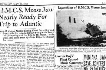 Eighty years ago – The launch of Corvette, HMCS Moose Jaw - moosejawtoday.com