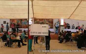 Adelanta Panal en San Pablo del Monte y Zacatelco - El Sol de Tlaxcala
