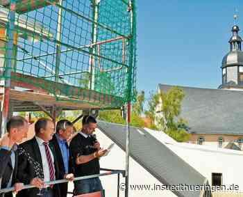 Ilmenau: Richtfest an der Engelsmühle in Langewiesen - inSüdthüringen - inSüdthüringen.de