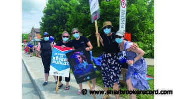 Health professionals and technicians put pressure on Quebec government - Sherbrooke Record