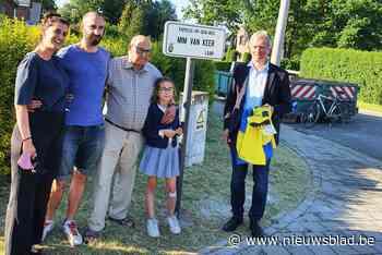 "Mim Van Keerlaan officieel ingehuldigd: ""Dit is de mooiste troost die we na het verlies van ons moeke konden krijgen"""