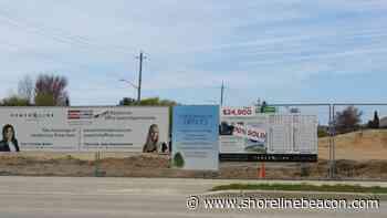 Emergency sewer repair on Goderich St., Port Elgin - Shoreline Beacon